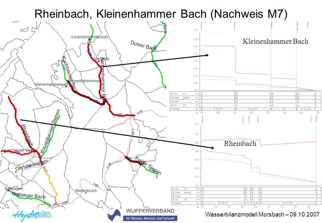 Rheinbach, Kleinenhammer Bach (Nachweis M7)
