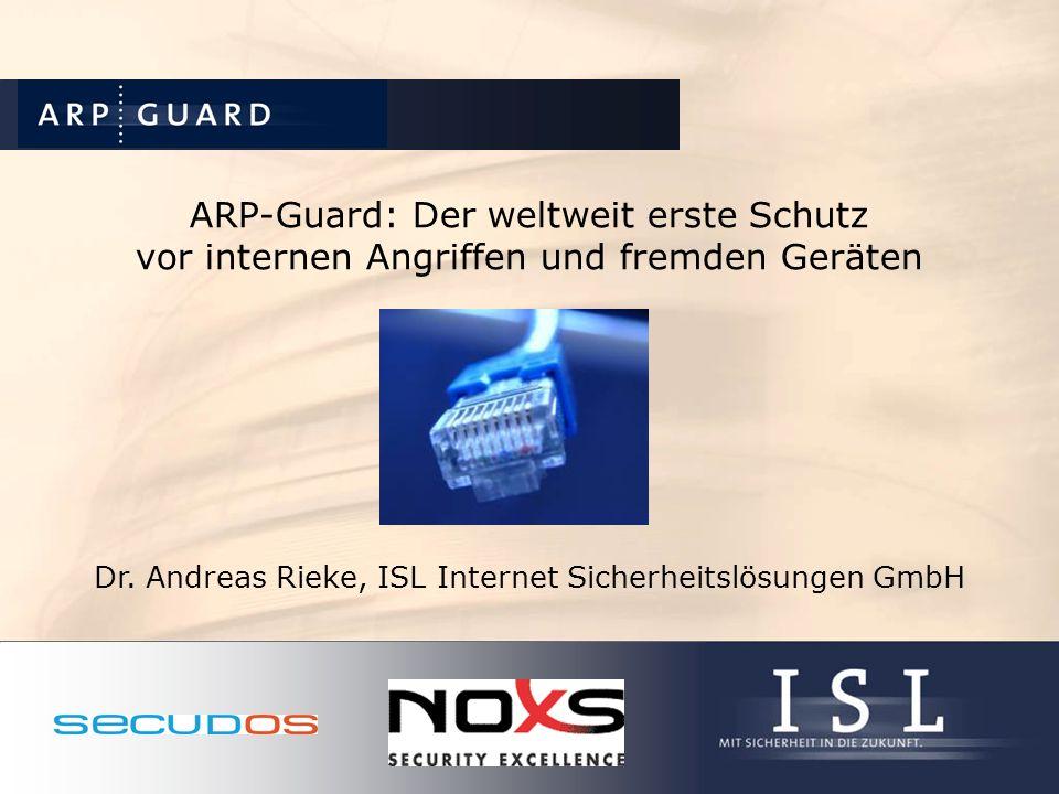 Dr. Andreas Rieke, ISL Internet Sicherheitslösungen GmbH