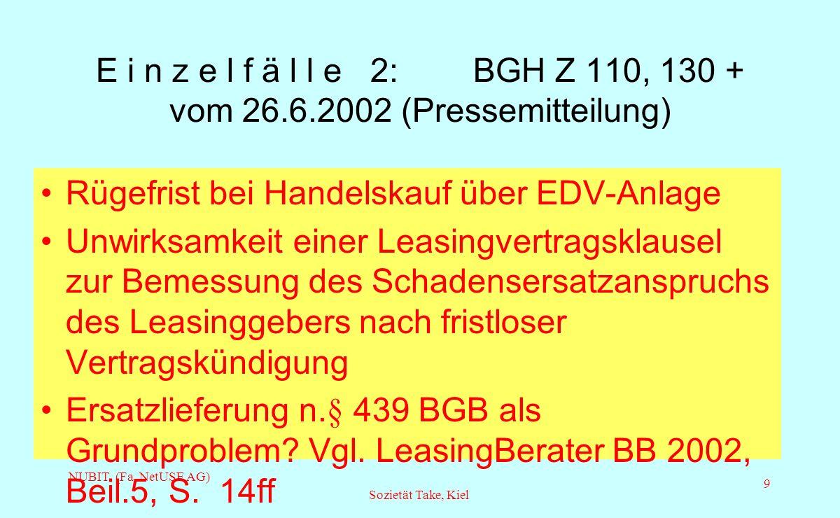 NUBit Fa. NetUSE AG Kiel, Feb. 2003
