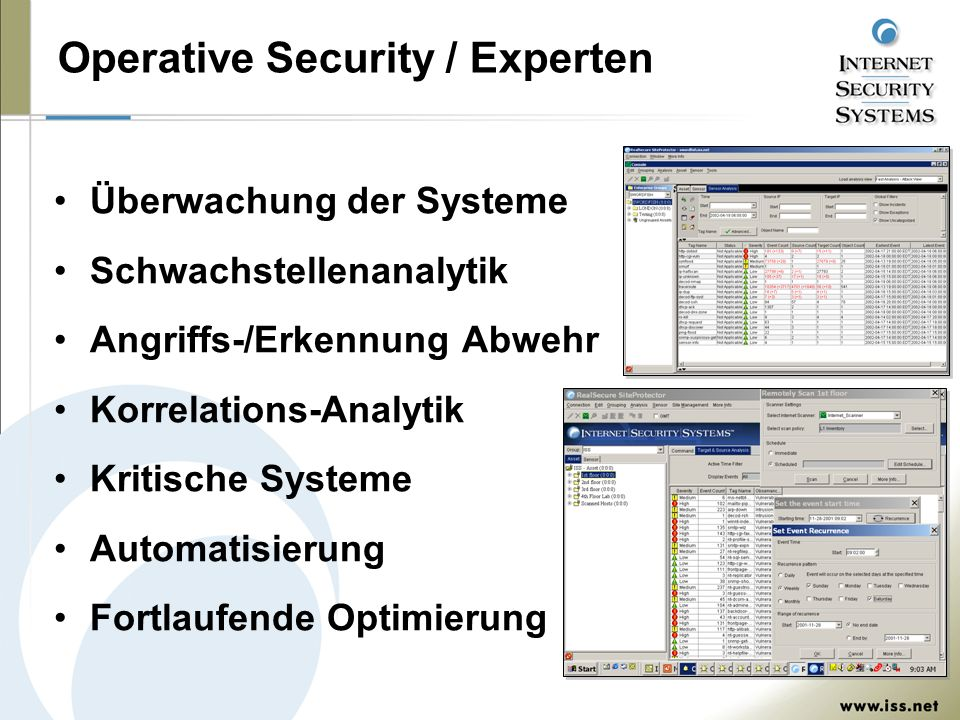 Operative Security / Experten