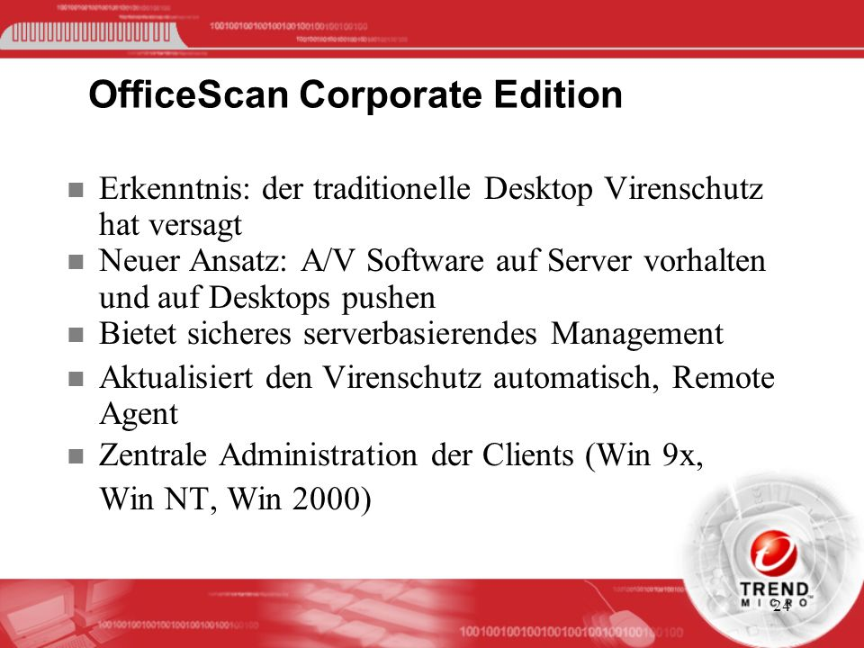 OfficeScan Corporate Edition