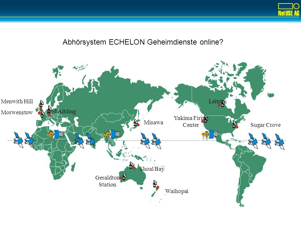 Abhörsystem ECHELON Geheimdienste online