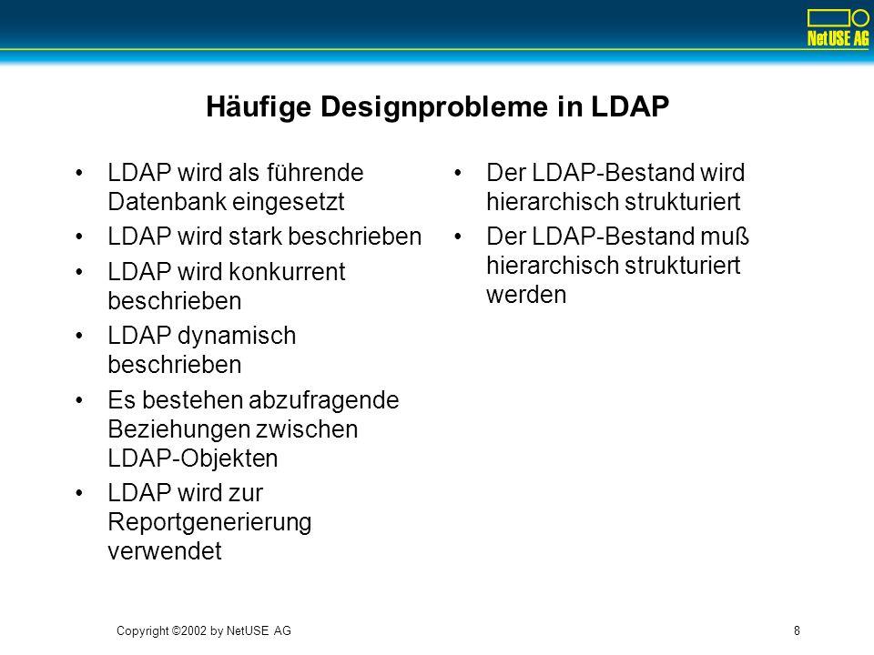 Häufige Designprobleme in LDAP