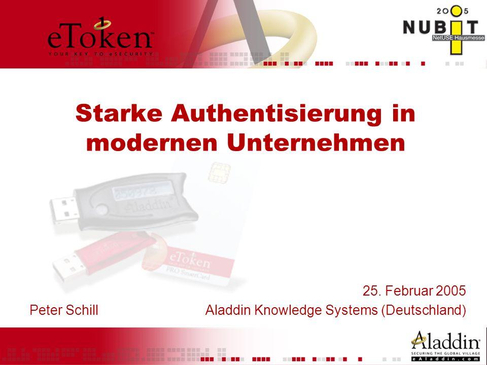Starke Authentisierung in modernen Unternehmen