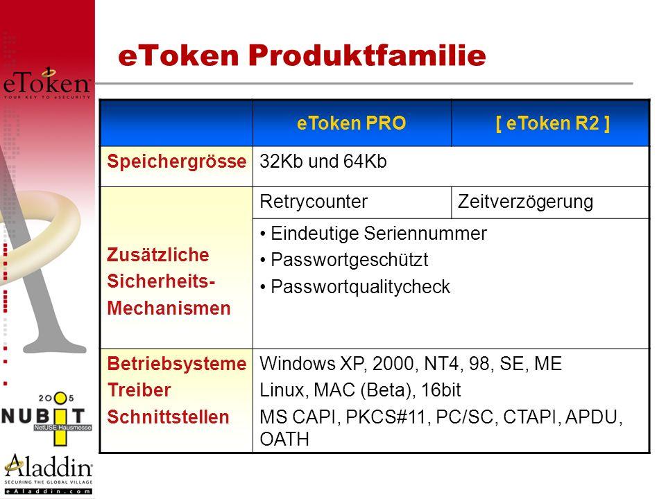 eToken Produktfamilie