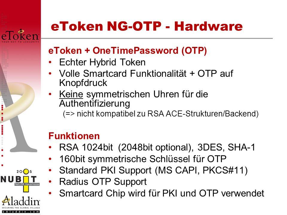 eToken NG-OTP - Hardware