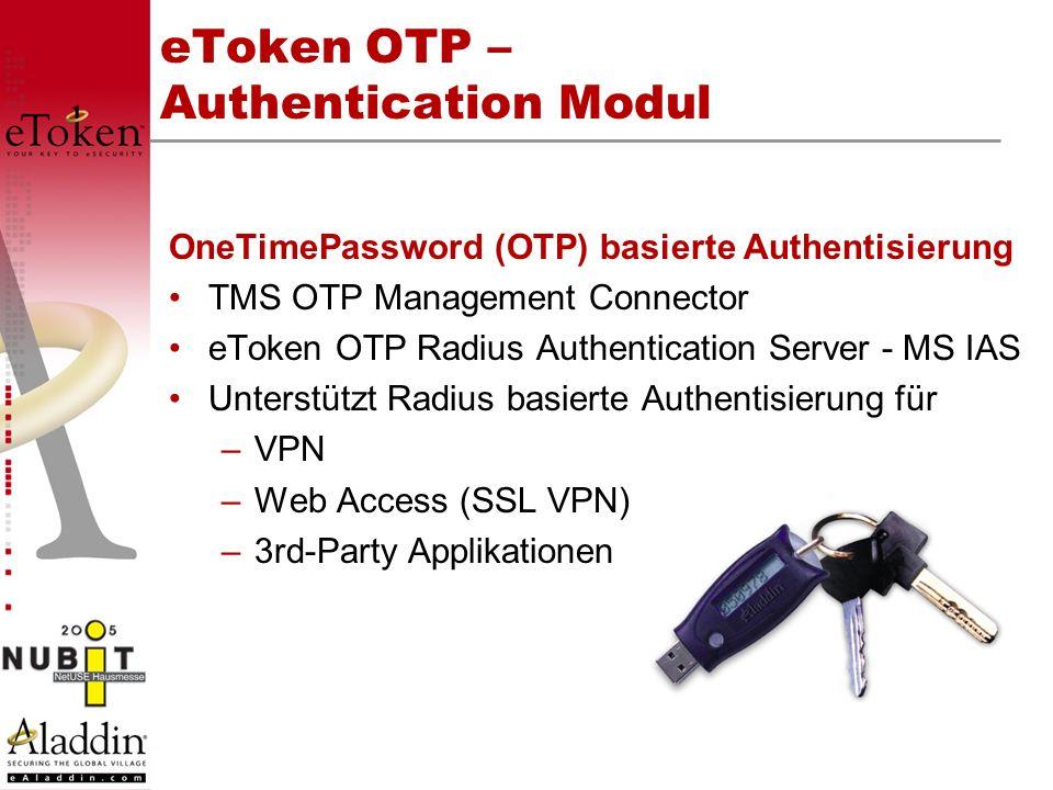 eToken OTP – Authentication Modul
