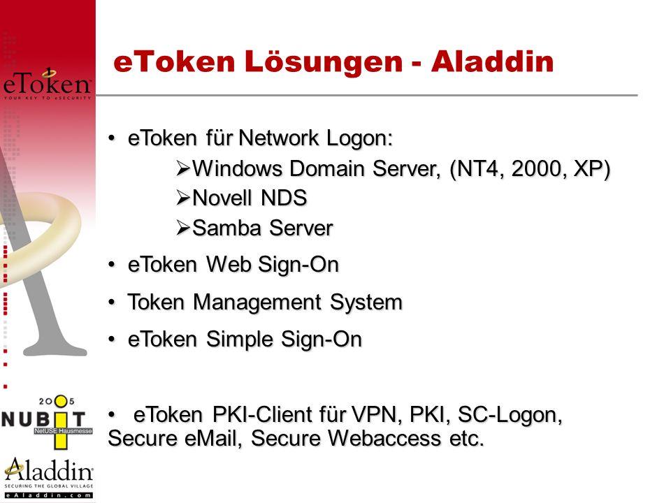 eToken Lösungen - Aladdin
