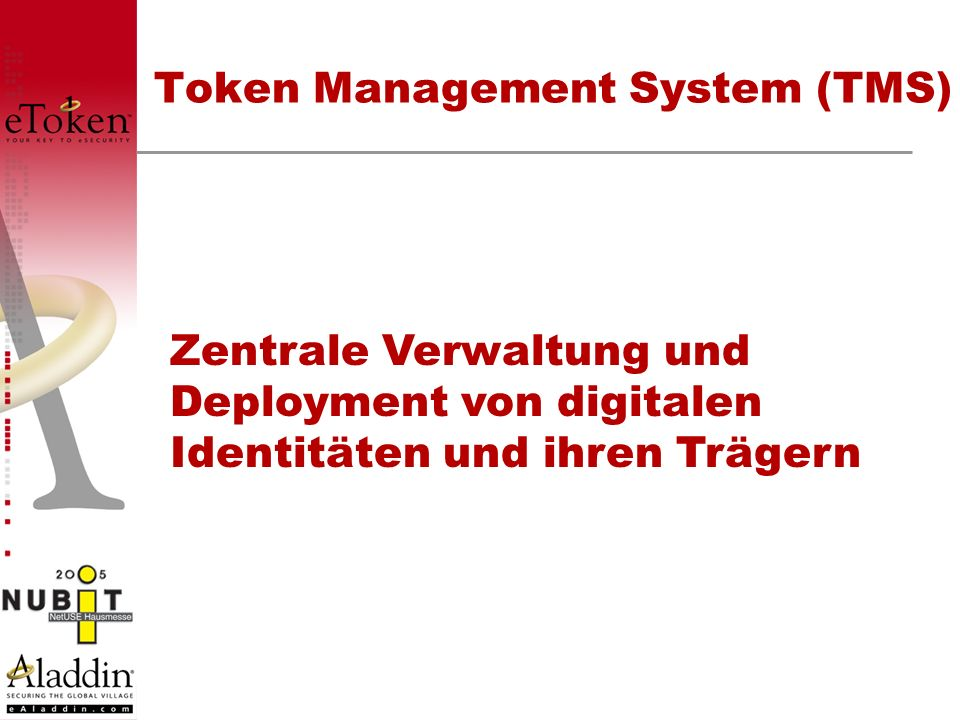 Token Management System (TMS)