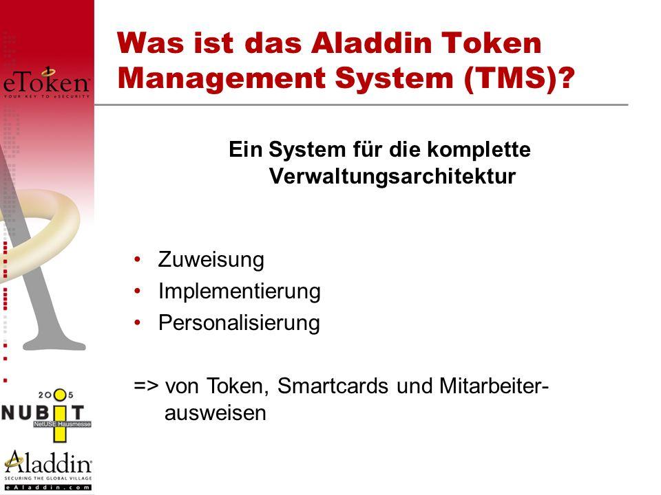 Was ist das Aladdin Token Management System (TMS)