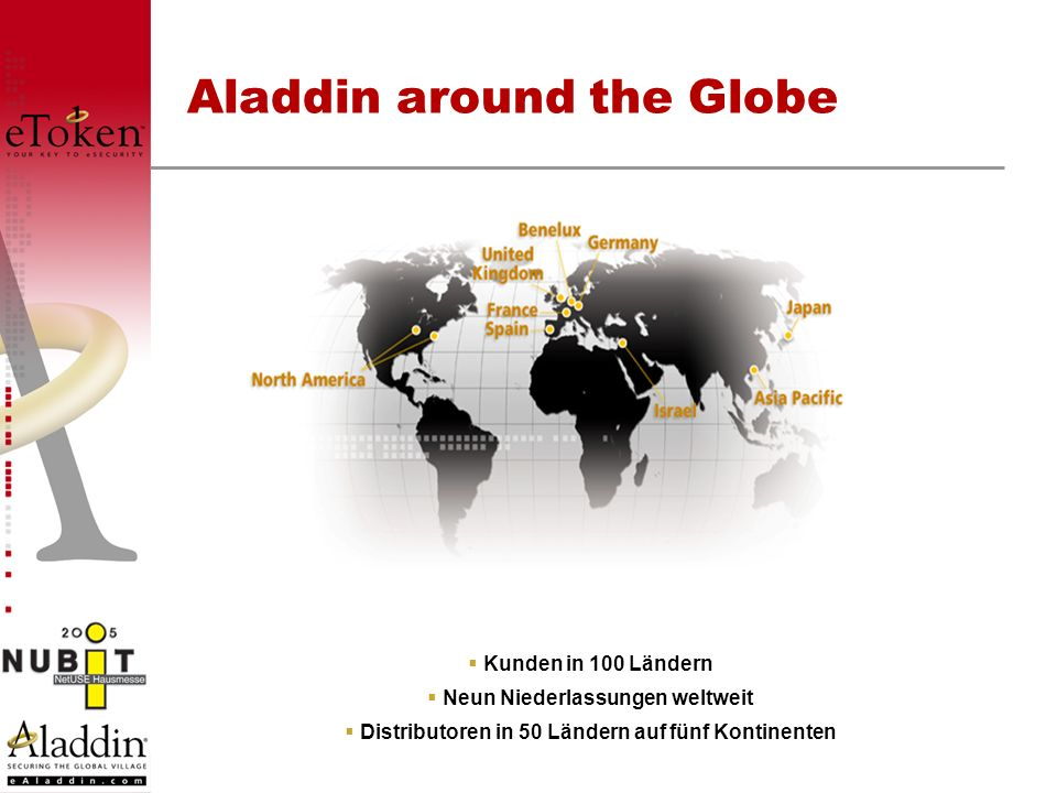 Aladdin around the Globe