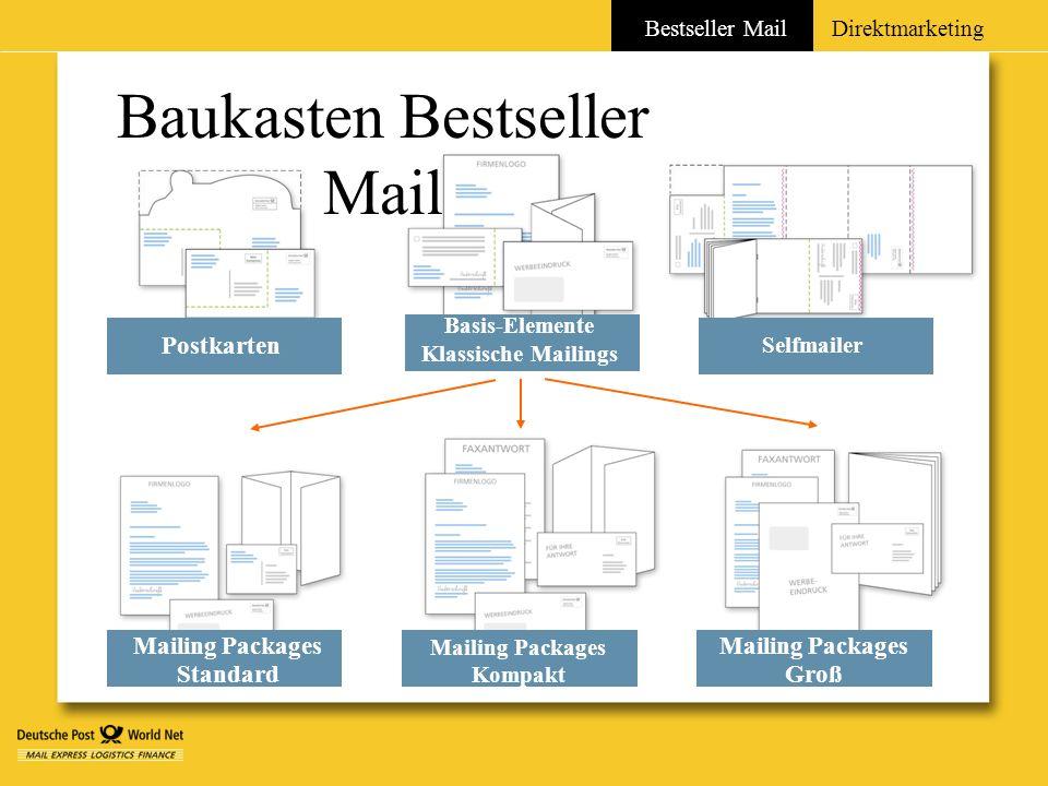 Baukasten Bestseller Mail