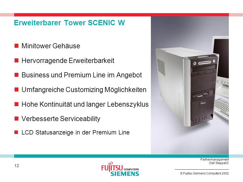 Erweiterbarer Tower SCENIC W