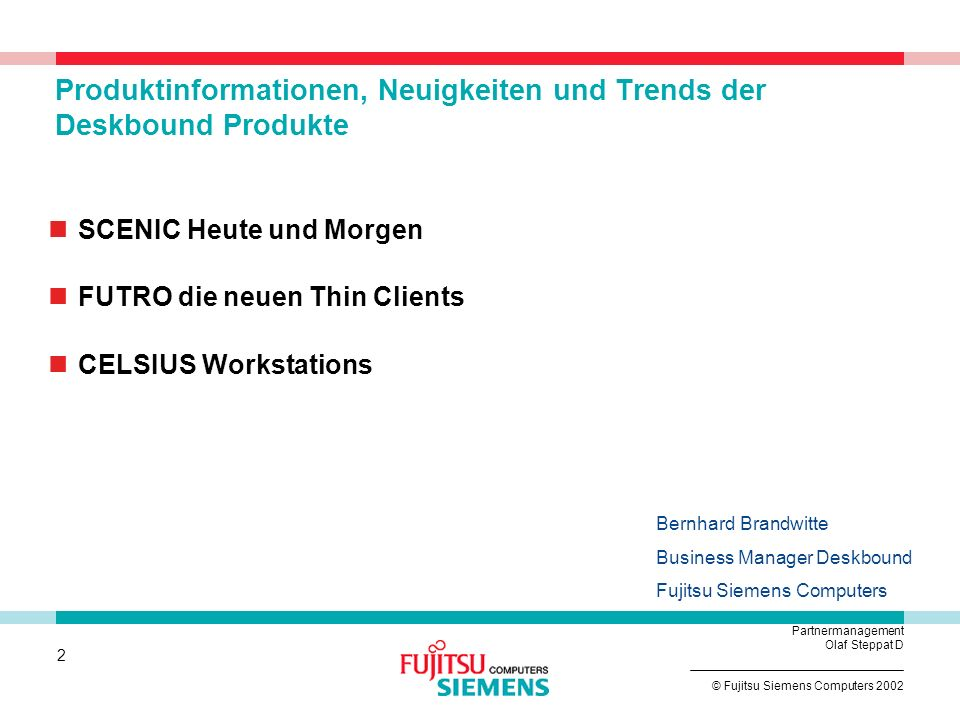 Produktinformationen, Neuigkeiten und Trends der Deskbound Produkte