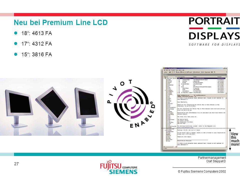 Neu bei Premium Line LCD