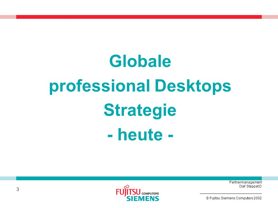 professional Desktops Strategie