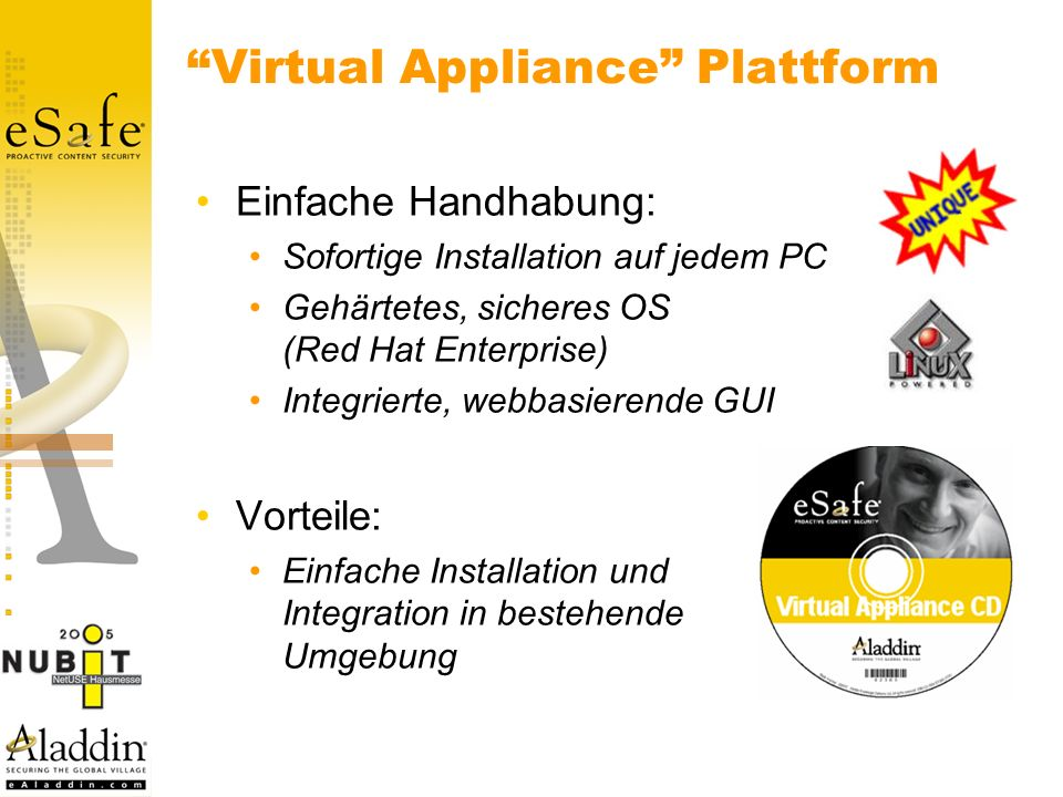 Virtual Appliance Plattform
