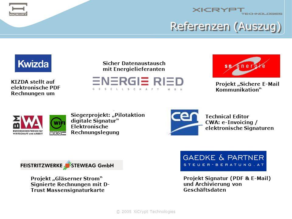 Referenzen (Auszug) Sicher Datenaustausch mit Energielieferanten