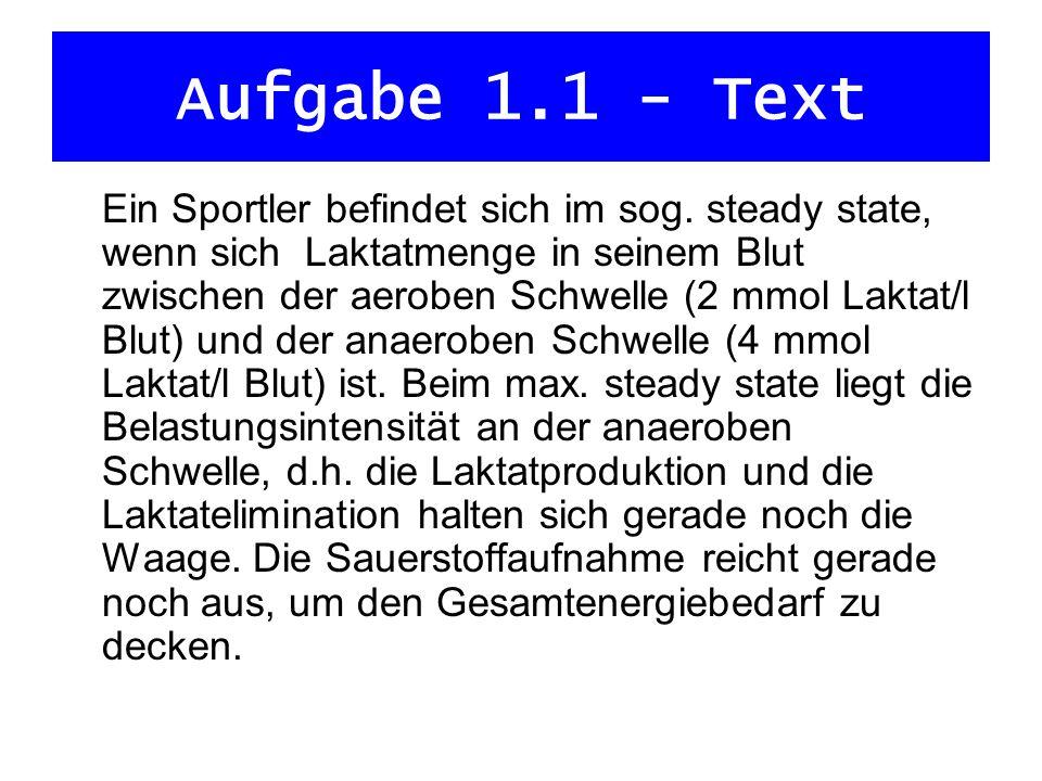 Aufgabe 1.1 - Text