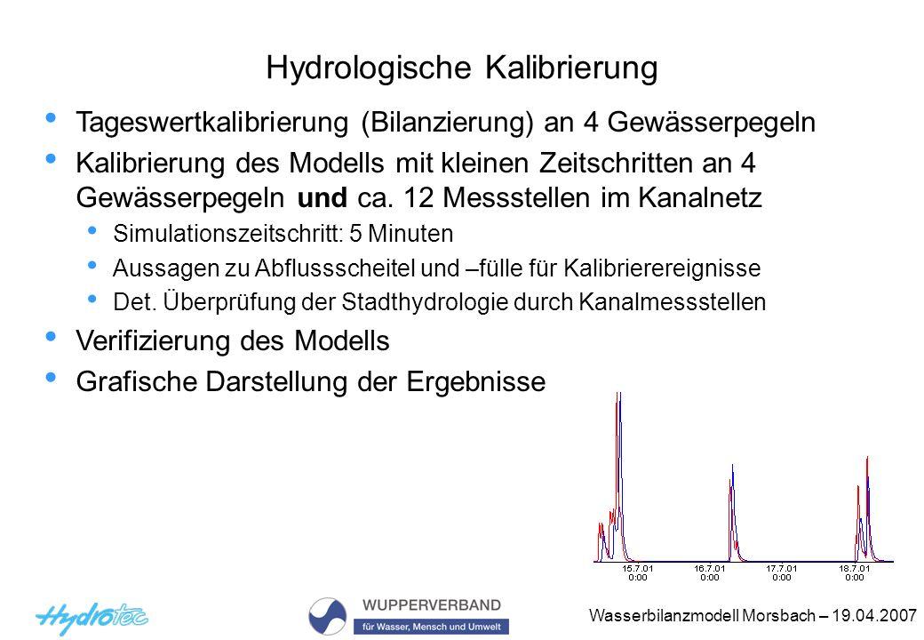 Hydrologische Kalibrierung