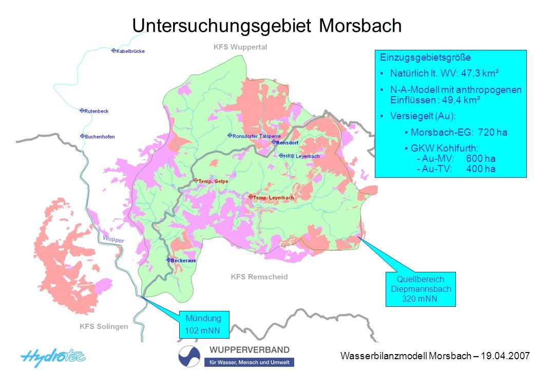 Untersuchungsgebiet Morsbach