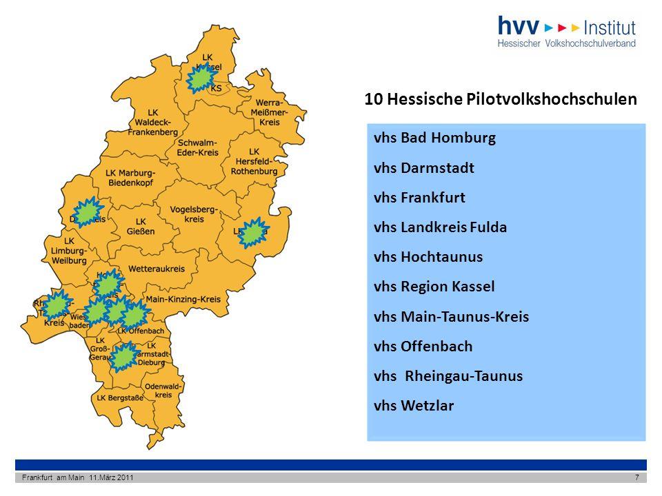 10 Hessische Pilotvolkshochschulen