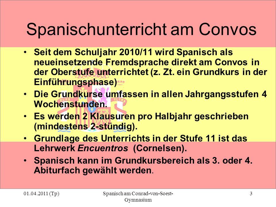 Spanischunterricht am Convos