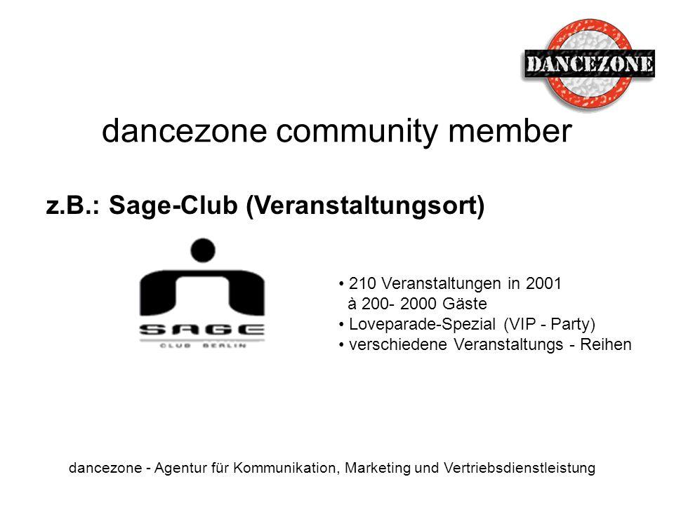 dancezone community member