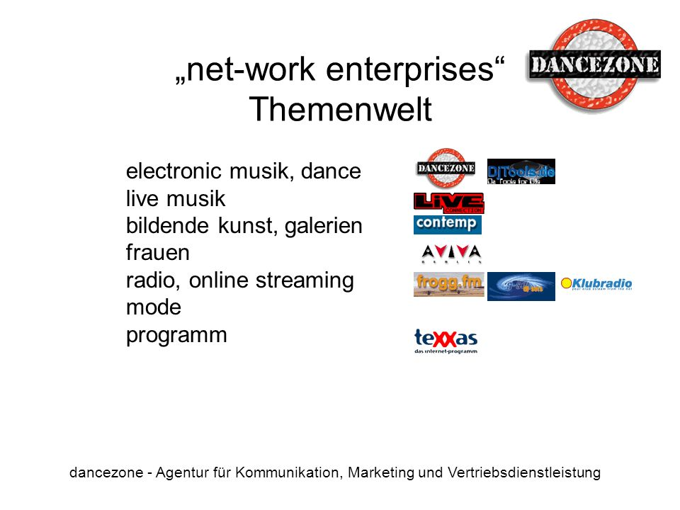 """net-work enterprises Themenwelt"