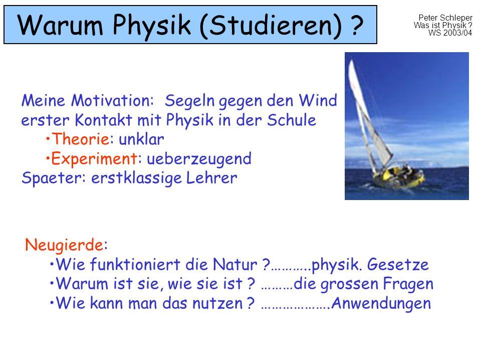 Warum Physik (Studieren)