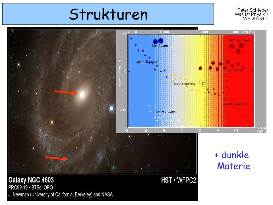 Strukturen + dunkle Materie