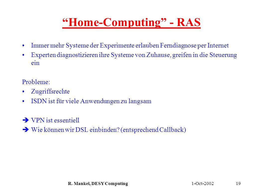 Home-Computing - RAS