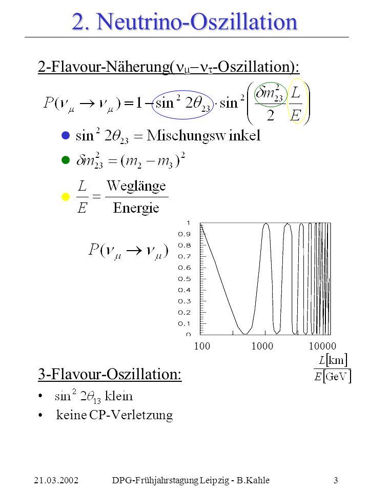 2. Neutrino-Oszillation