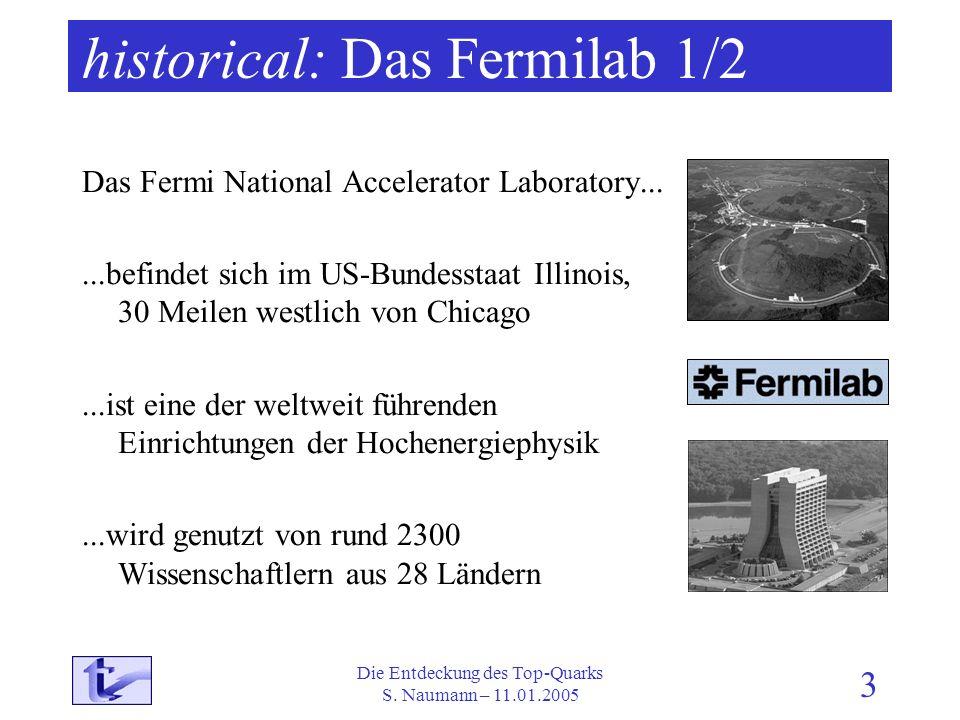 historical: Das Fermilab 1/2