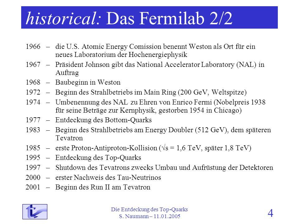 historical: Das Fermilab 2/2