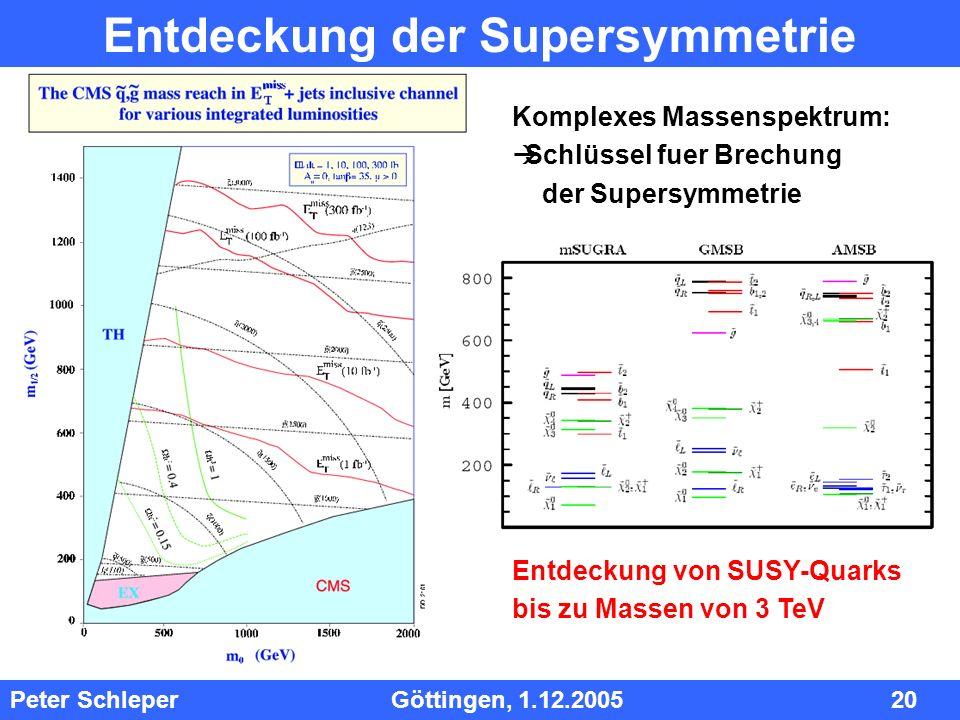 Entdeckung der Supersymmetrie