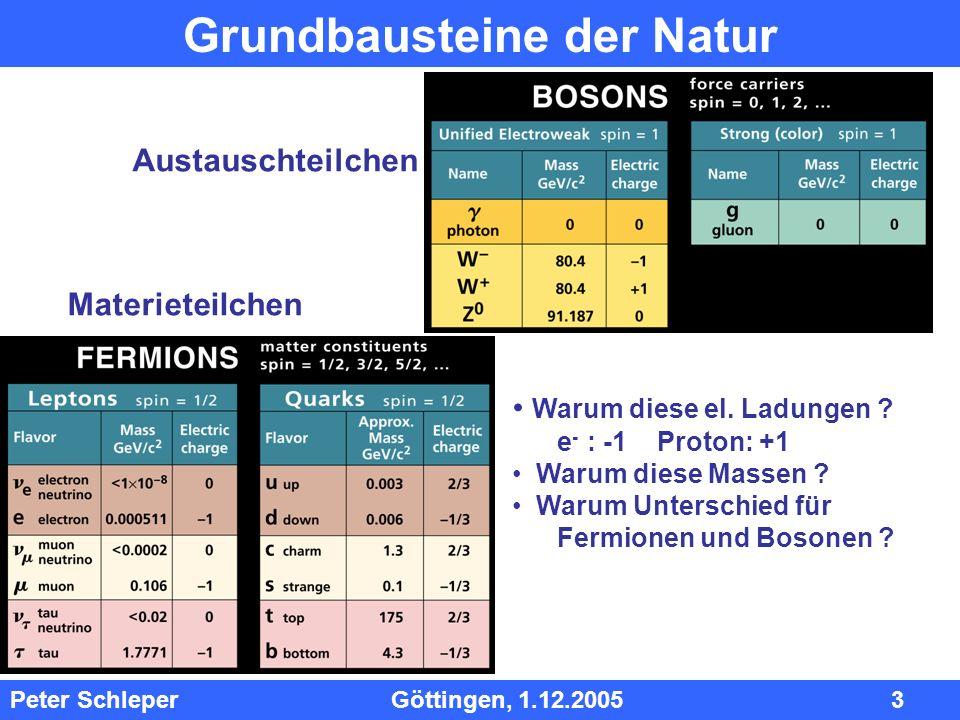 Grundbausteine der Natur