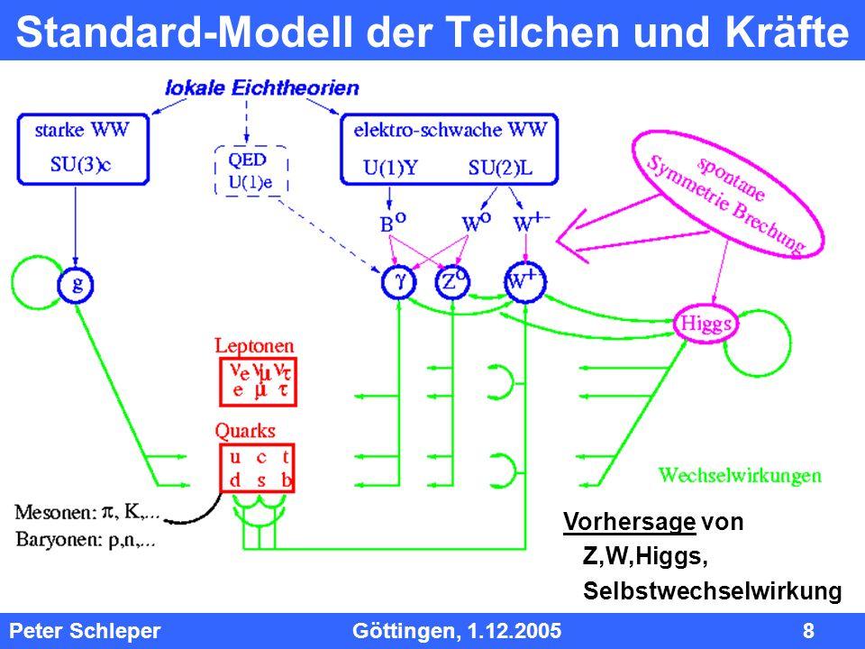 Standard-Modell der Teilchen und Kräfte