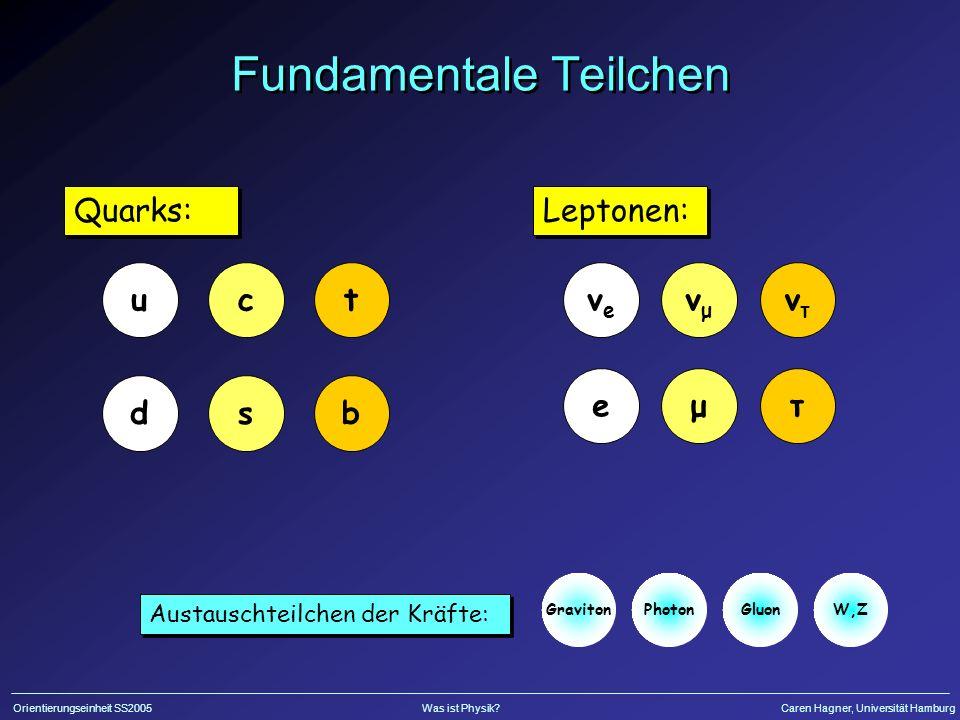 Fundamentale Teilchen