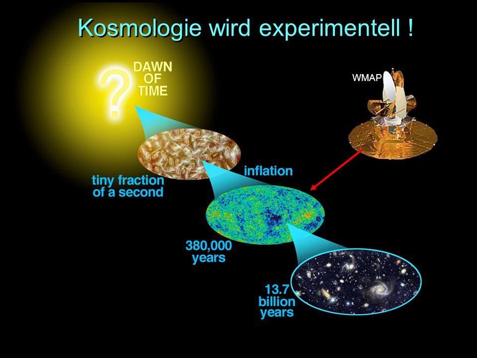 Kosmologie wird experimentell !