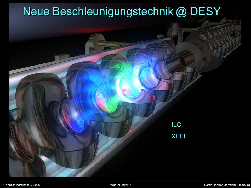 Neue Beschleunigungstechnik @ DESY