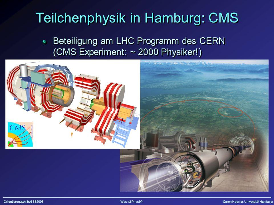 Teilchenphysik in Hamburg: CMS