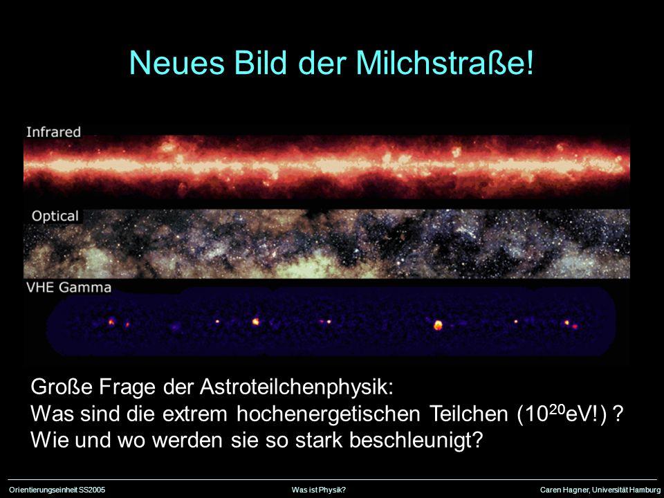 Neues Bild der Milchstraße!