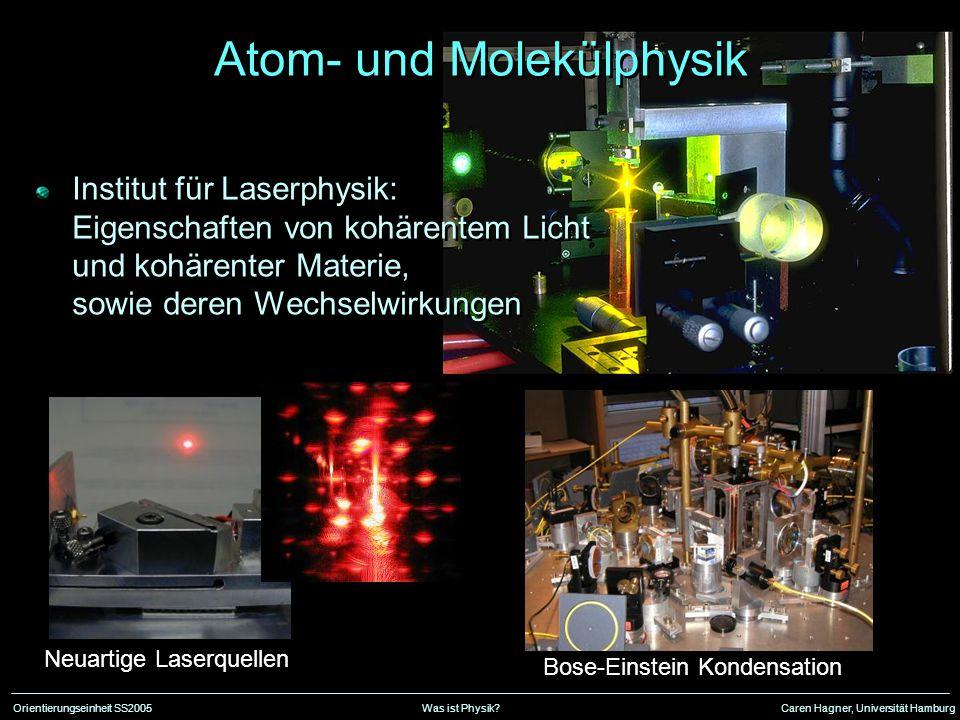 Atom- und Molekülphysik