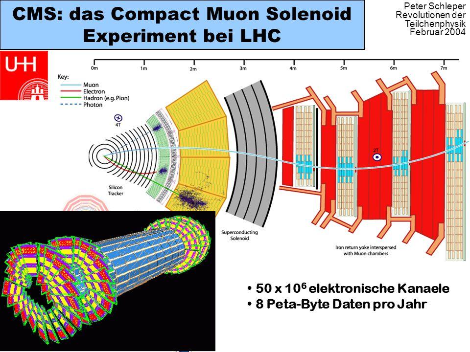 CMS: das Compact Muon Solenoid Experiment bei LHC