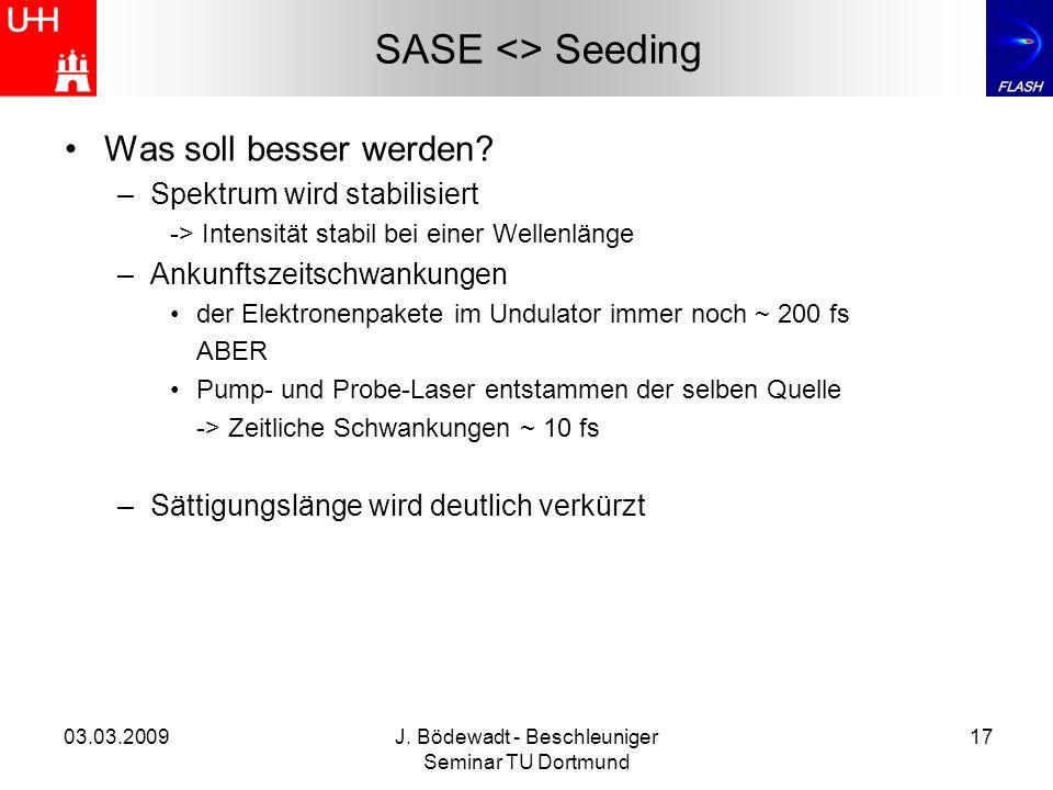 J. Bödewadt - Beschleuniger Seminar TU Dortmund