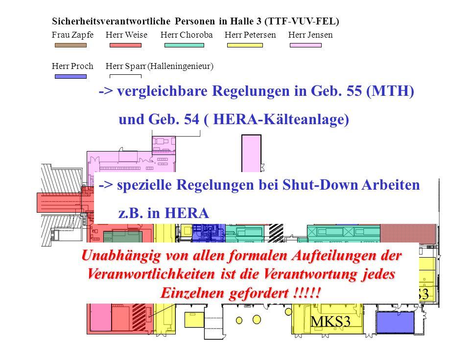 -> vergleichbare Regelungen in Geb. 55 (MTH)