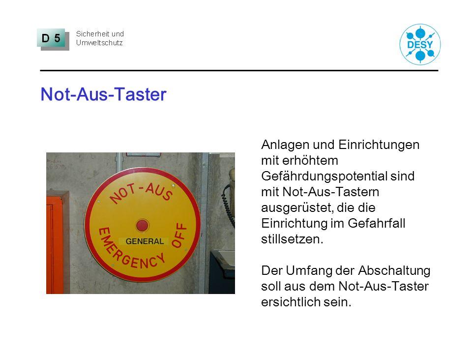 Not-Aus-Taster