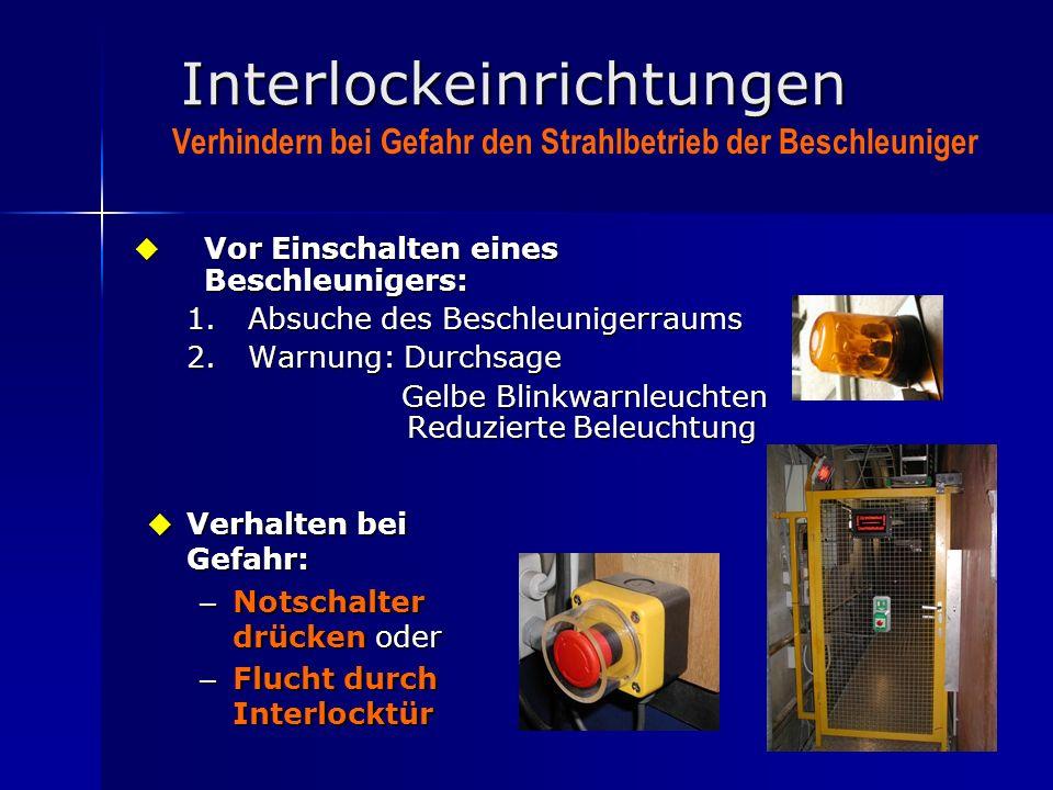 Interlockeinrichtungen