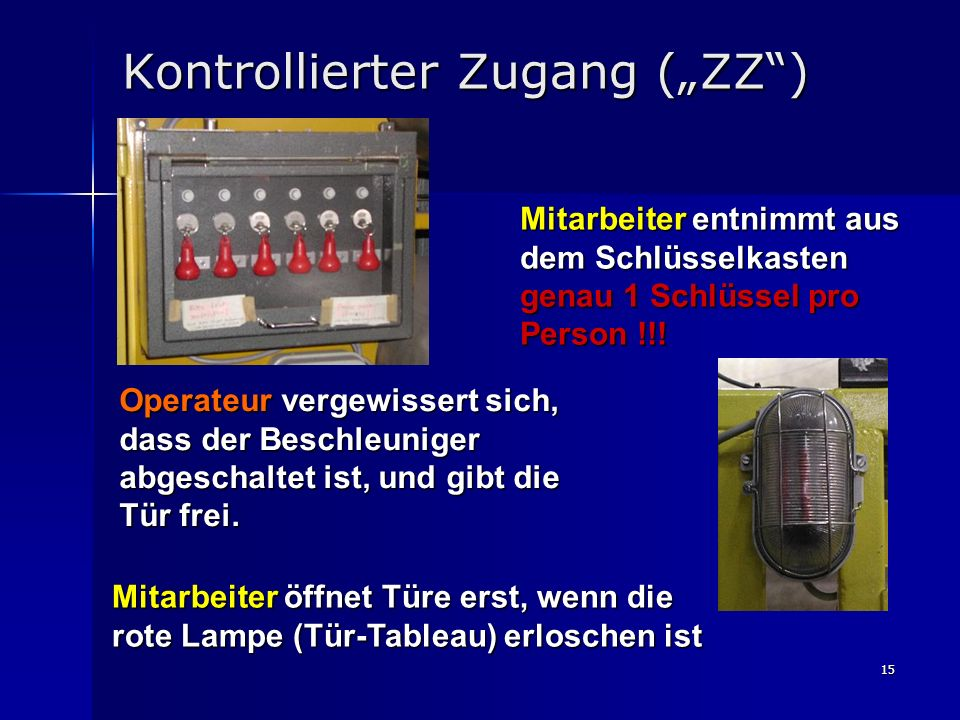 "Kontrollierter Zugang (""ZZ )"